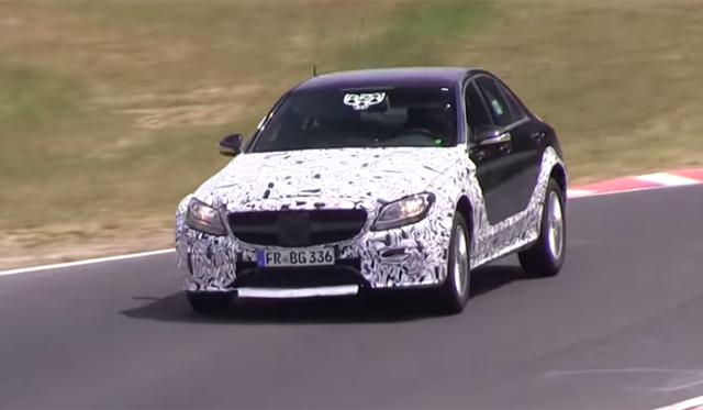 Video: Next-Gen Mercedes-Benz E-Class Tests at the Nurburgring