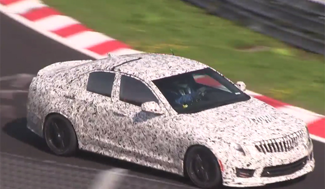 Video: 2016 Cadillac ATS-V Tests at the Nurburgring