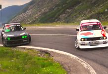 Video: Two BMWs Drift Up the Transfagarasan Highway