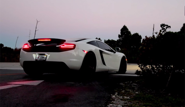 Video: Epic McLaren 12C by ADV.1 and Fabspeed!