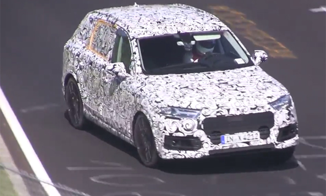 Video: 2016 Audi SQ7 Hits the Nurburgring!