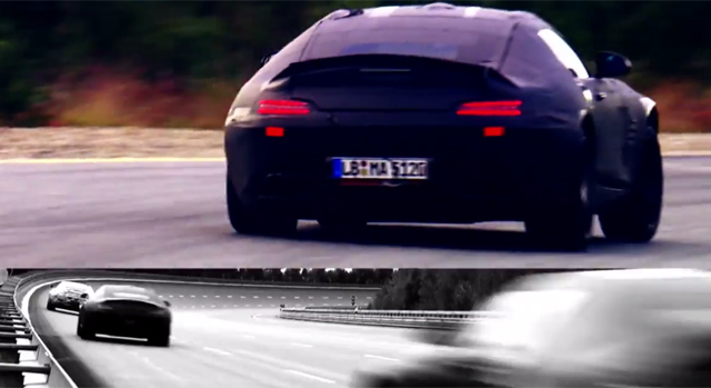 Video: New Teaser Dropped of 2015 Mercedes-AMG GT