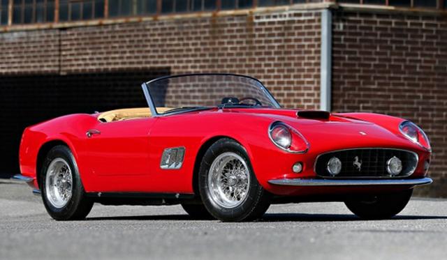 1961 Ferrari 250 GT SWB California Spider Heading to Auction