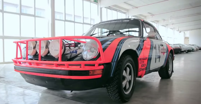 Video: The Porsche 911 SC Safari Rally Car