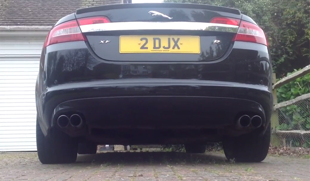 Video: Jaguar XFR-S Exhaust by Quicksilver