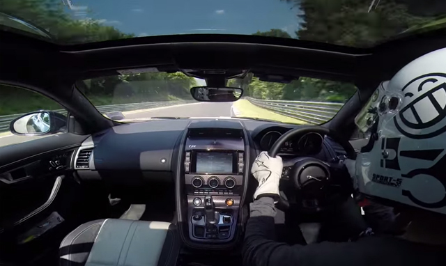 Video: Onboard Jaguar F-Type R Coupe at the Nurburgring!