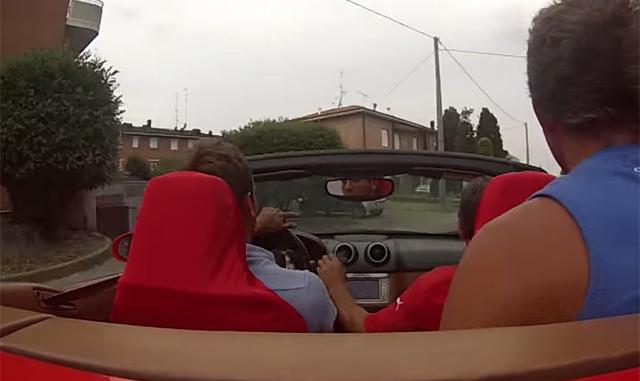 Video: Ferrari California Crashes on Italian Test Drive!