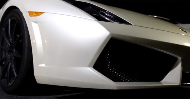 Video: 1750hp Lamborghini Gallardo vs 425hp Suzuki Hayabusa!