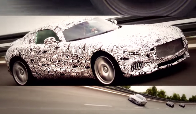 2015 Mercedes-AMG GT to Provide 'Insane Acceleration'