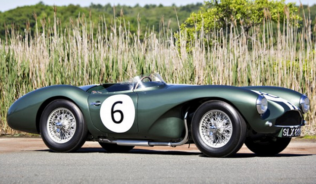 Rare 1955 Aston Martin DB3S Heading to Auction