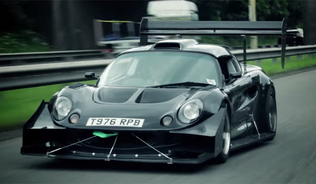 Video: Utterly Insane Lotus Exige S Time Attack Car Driven!