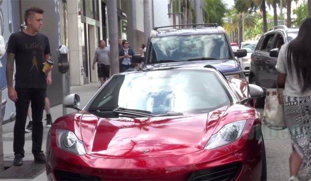 Video: Pretending to Dent Supercars in L.A!