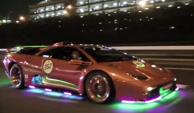 Video: Japan's Fetish With LED-Covered Supercars