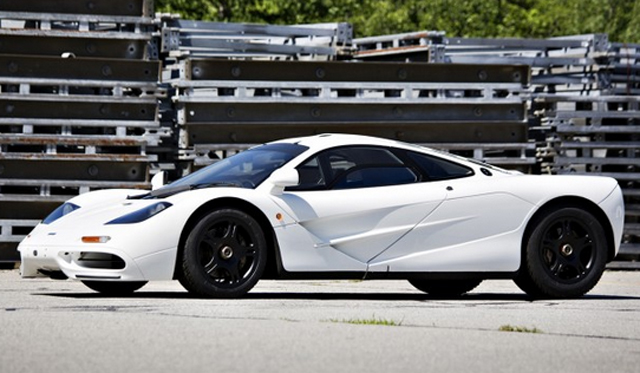 White McLaren F1 Could Fetch $14 Million at Auction!