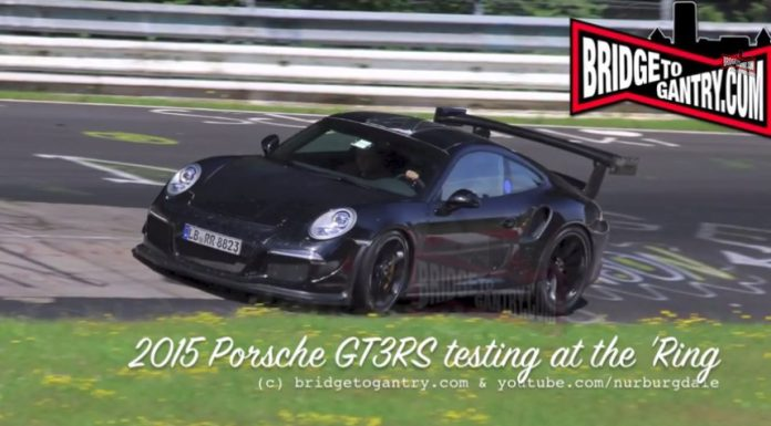Video: 2015 Porsche GT3RS in Action at the Nürburgring