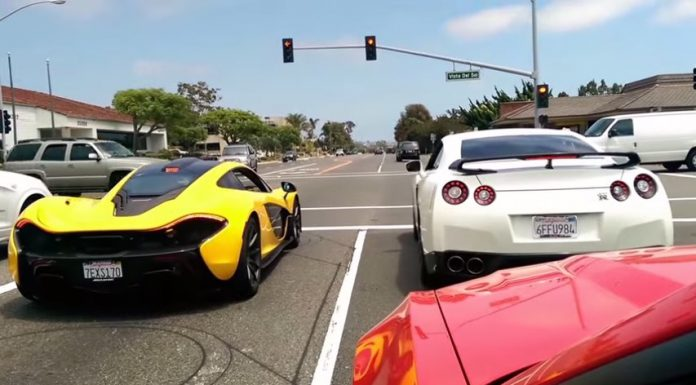 Video: McLaren P1 vs Modded Nissan GT-R Drag Race