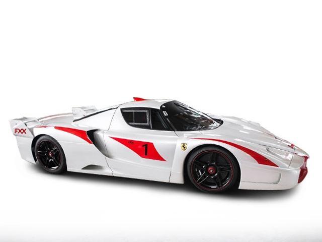 Bianco Fuji Pearl White Ferrari FXX Evoluzione