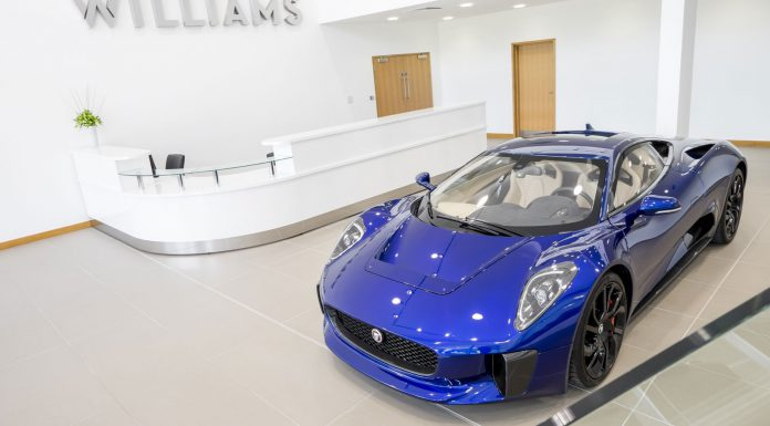 New Williams Technical Centre Opened by British Prime Minister