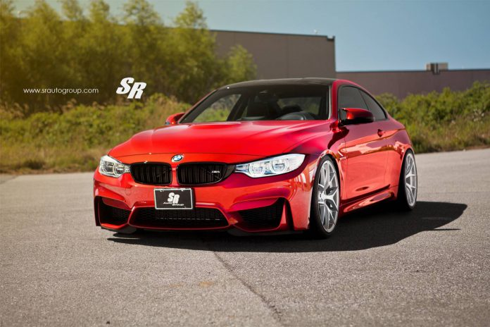 Stunning Red BMW M4 by SR Auto Group!