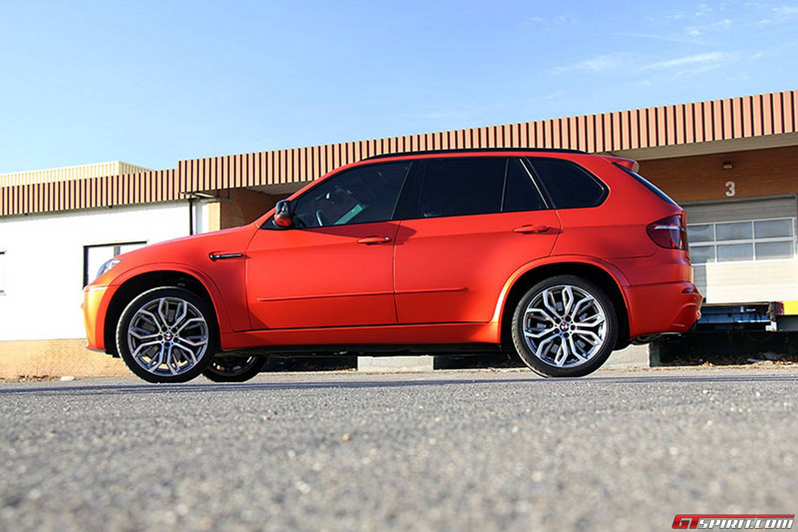 Official Anodized Matte Red Bmw X5 M By Fostla De Gtspirit