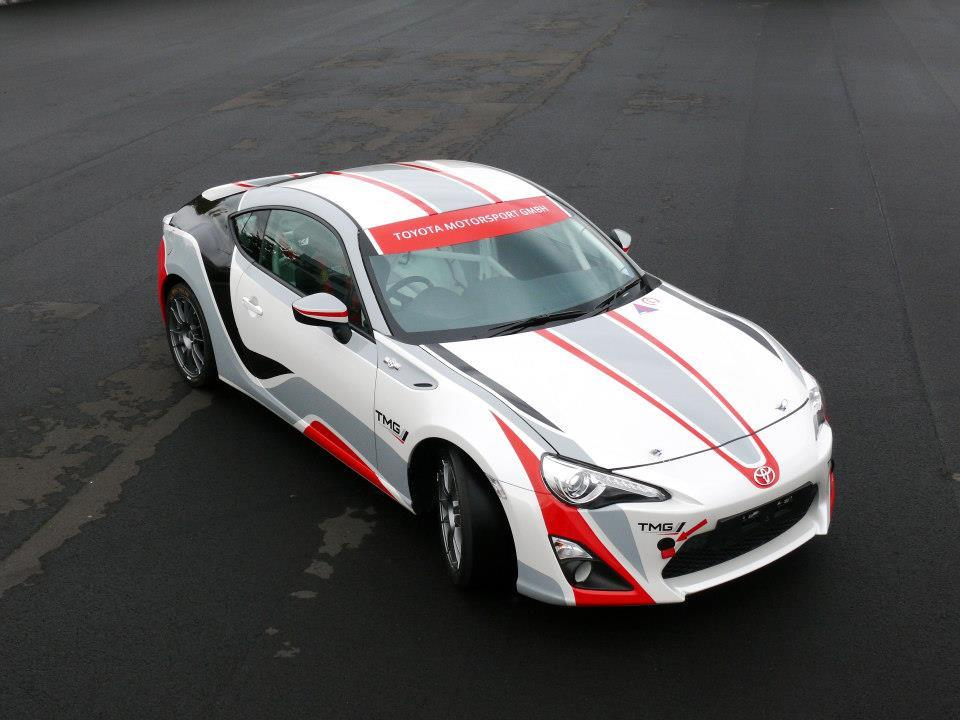 Toyota TMG GT86 CS-RS Racing at WRC in Germany