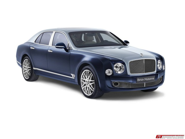 Powerful Bentley Mulsanne Variant Coming to Paris