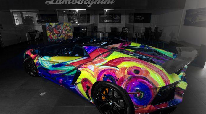 Lamborghini Miami Creates Artistic Aventador Roadster