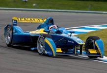 Sebastien Buemi Tops Time Sheets at Formula E Testing
