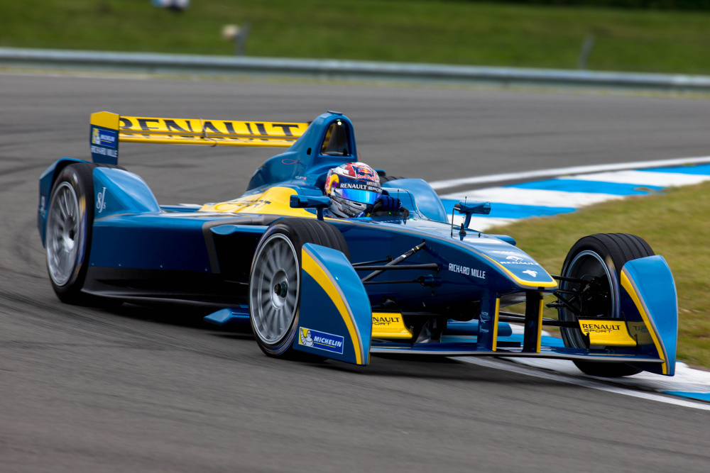 Sebastien Buemi Tops Time Sheets at Formula E Testing