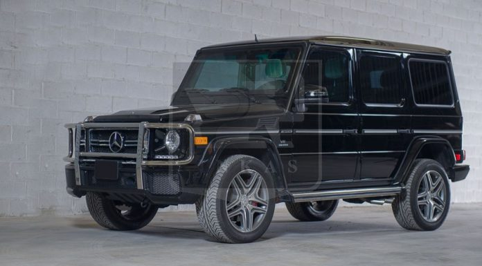 Official: Mercedes-Benz G63 AMG by INKAS Armored Vehicle Manufacturing