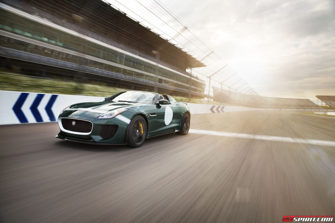 U.K Allocation of Jaguar F-Type Project 7 Sold Out