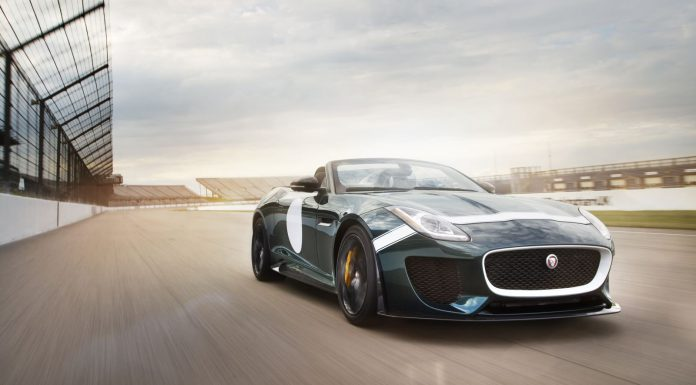 2015 Jaguar F-Type Projet 7 to Run at Le Mans Classic