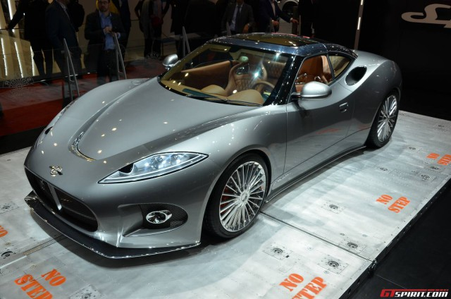 Spyker Assets Being Sold to Pay Tax Debts