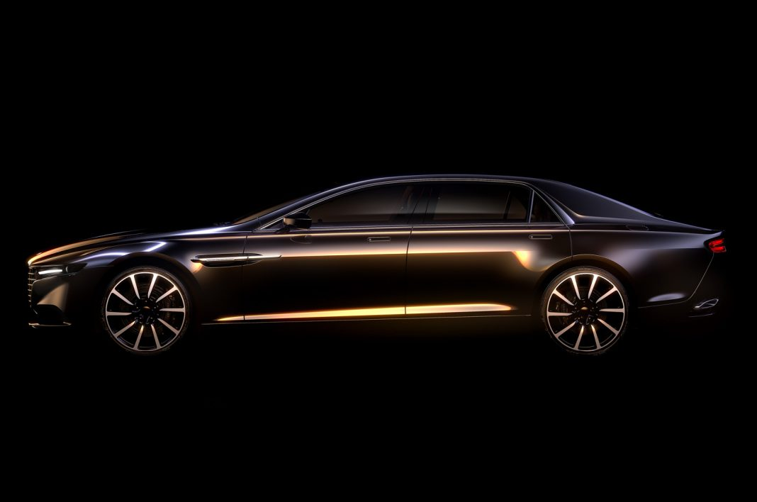 New Aston Martin Lagonda Sedan Previewed!
