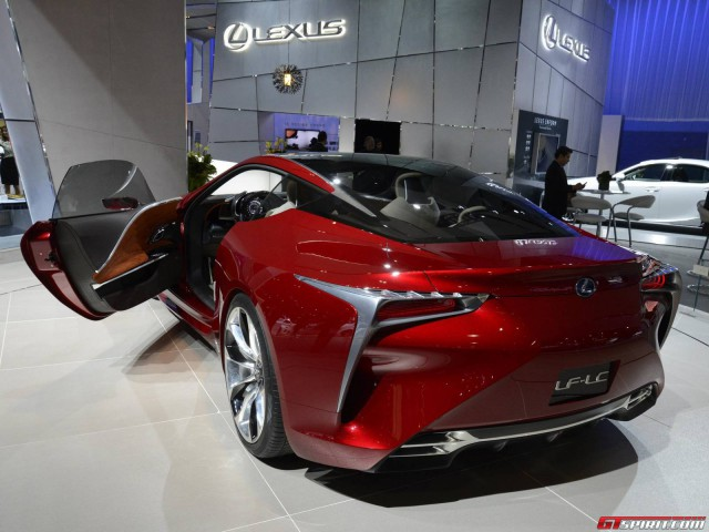 Lexus LF-LC to Get a 600hp V8 Twin-Turbo