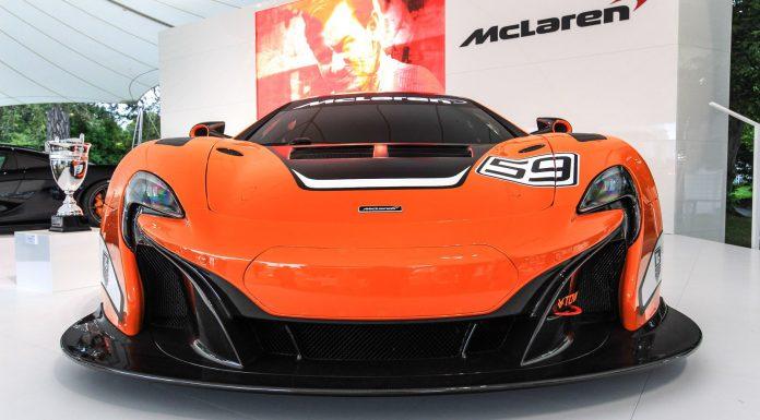 Goodwood FOS 2014: McLaren 650S GT3