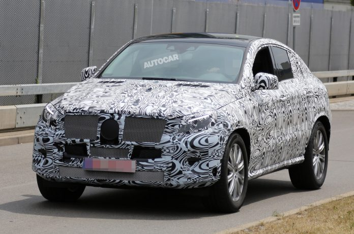 Mercedes-Benz ML Coupe Likely to Debut at New York Auto Show 2015
