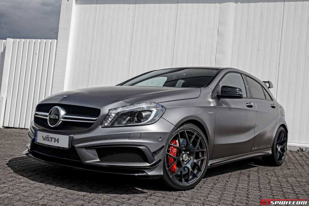 Official: Mercedes-Benz A45 AMG by Vath