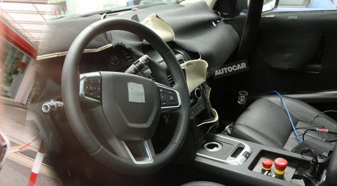 Interior of Land Rover Discovery Sport Spied!