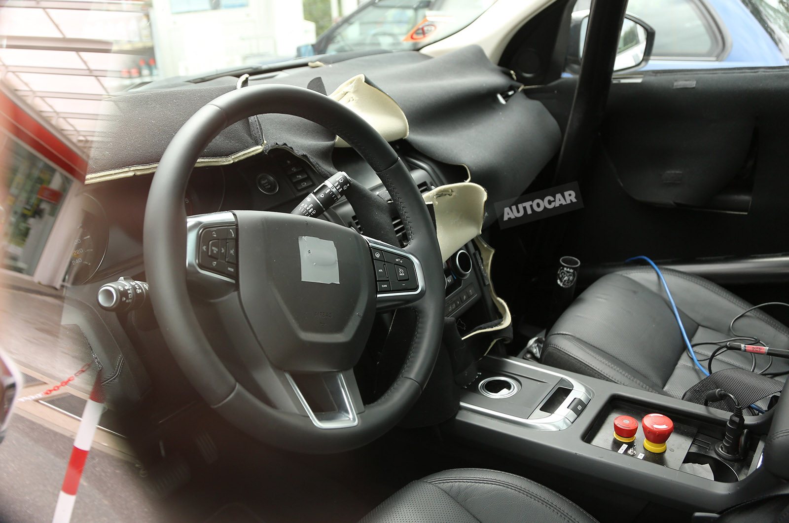 Interior Of Land Rover Discovery Sport Spied Gtspirit