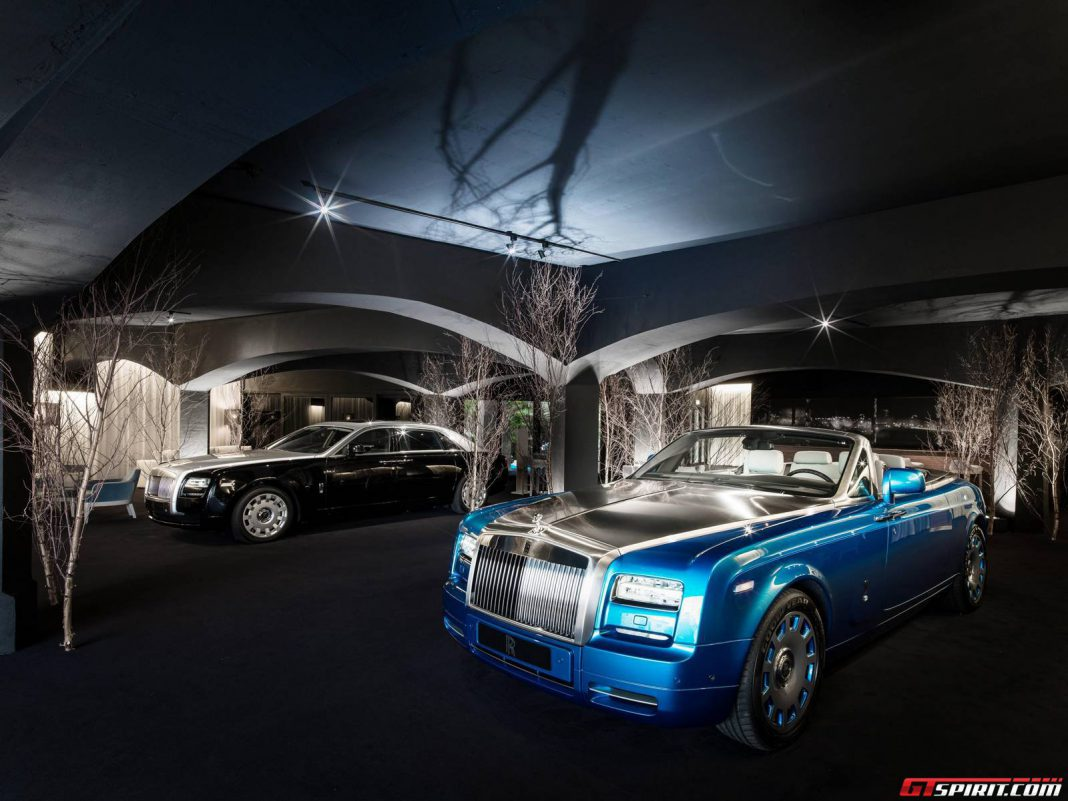 Rolls-Royce Opens New Exciting Summer Studio in Cannes