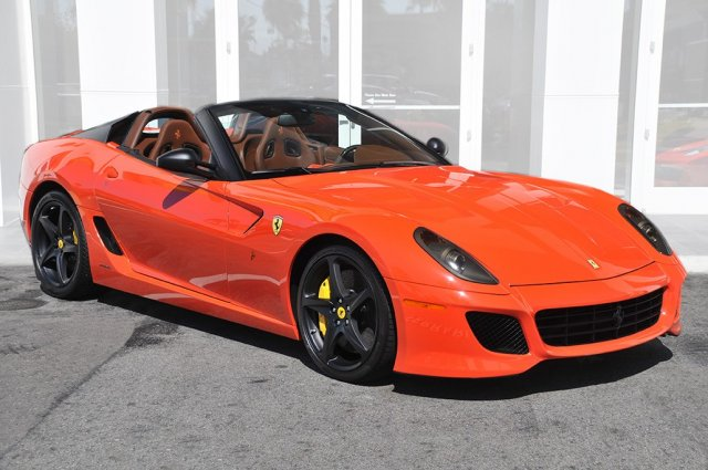 Ultra Rare Ferrari 599 SA Aperta For Sale in California