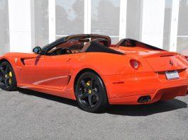 Ultra Rare Ferrari 599 SA Aperta For Sale in California