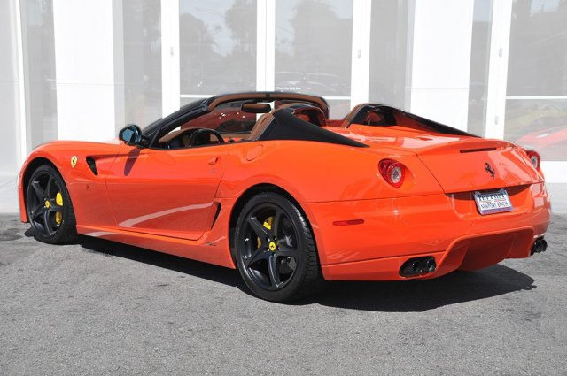 Ultra Rare Ferrari 599 Sa Aperta For In California