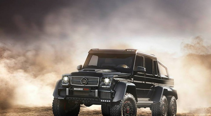 Photo of the Day: Brabus B63S 700 6x6 in the Wild