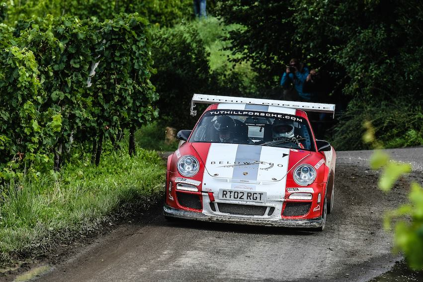 Tuthill Porsche 911 GT3 Rally Test: WRC Germany FIA RGT