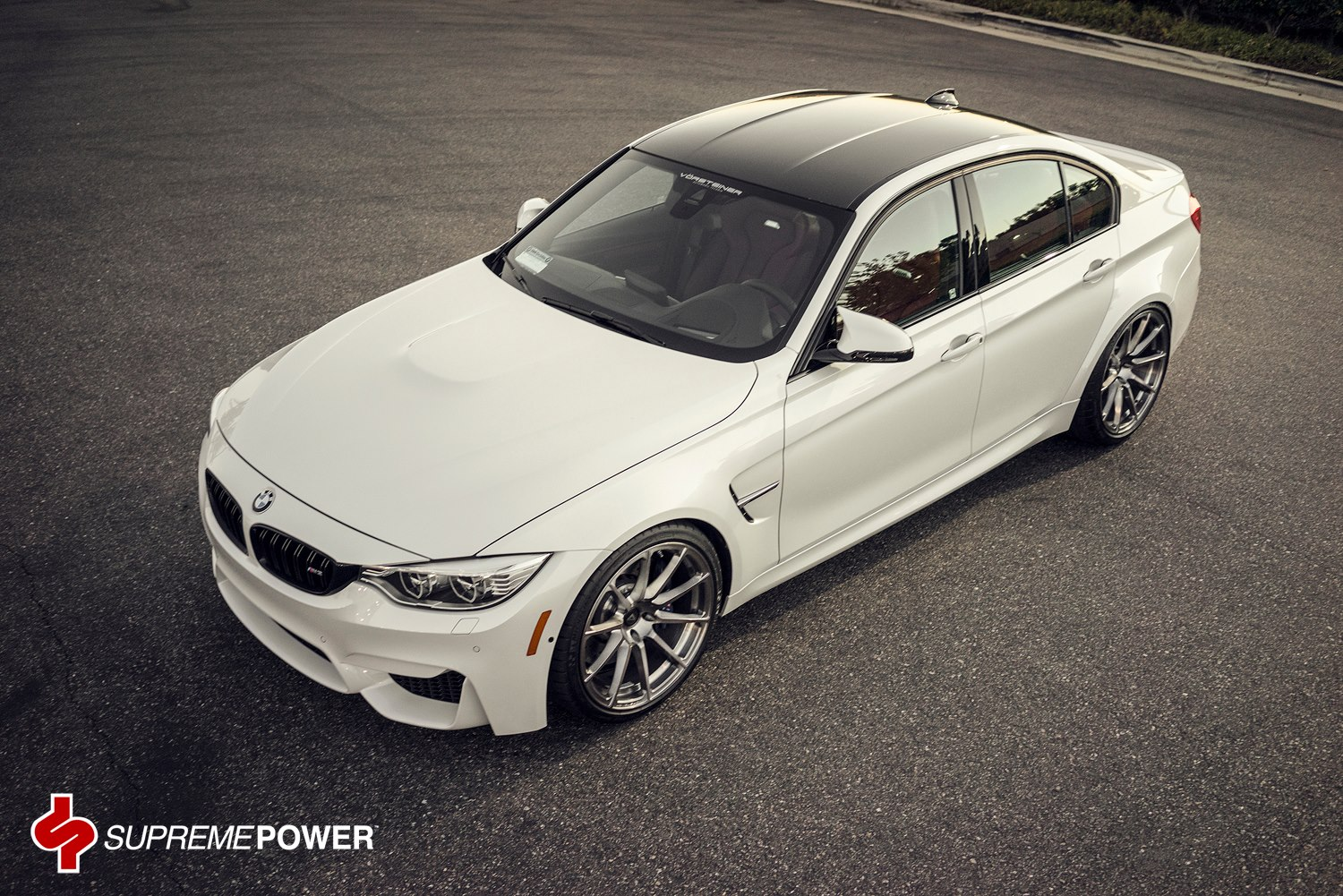 2014 Bmw M3 On Forged Vorsteiner Wheels Gtspirit