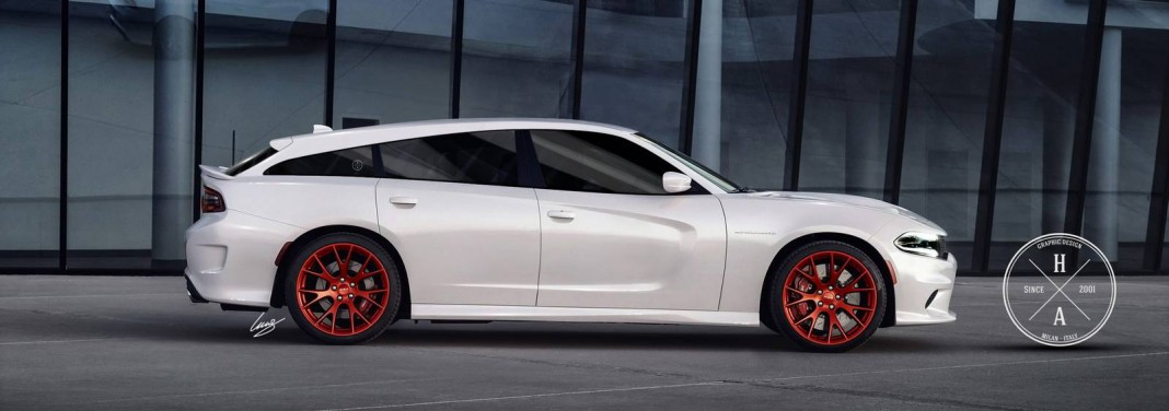 Dodge Charger SRT Hellcat Shooting Brake Imagined