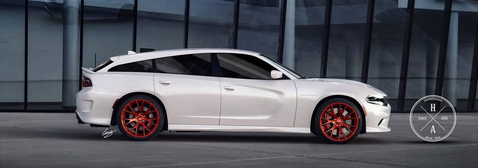 Hellcat Challenger For Sale >> Dodge Charger SRT Hellcat Shooting Brake Imagined - GTspirit
