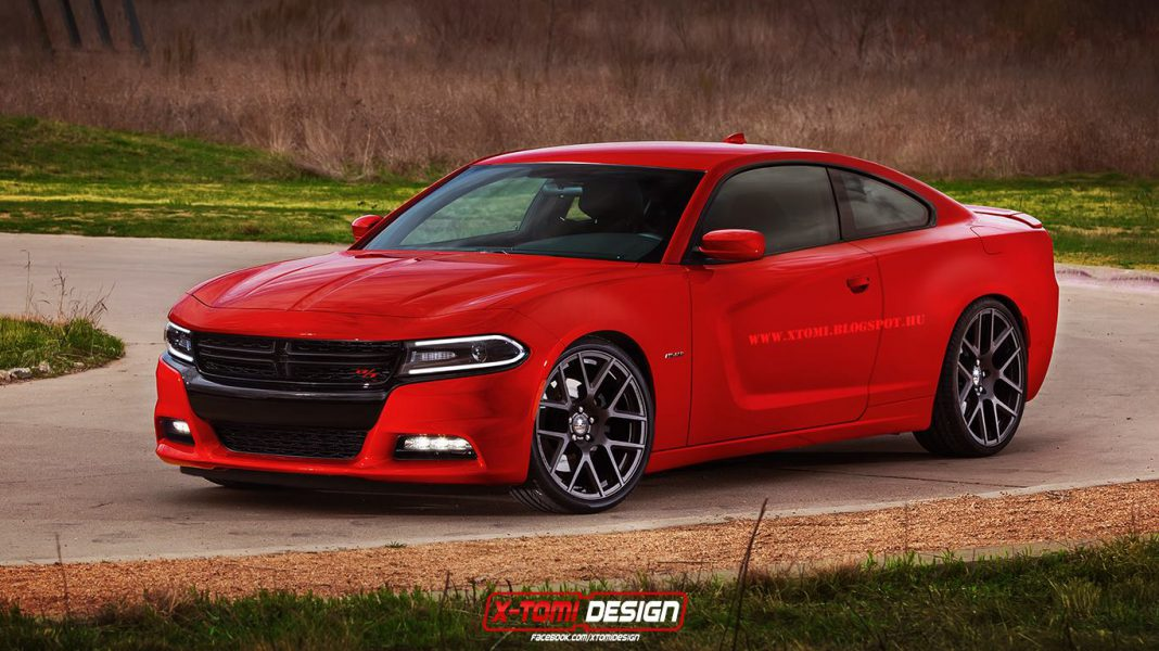 Dodge Charger Coupe Render